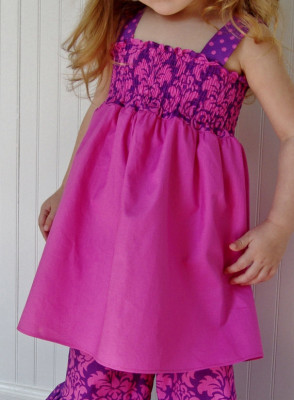 Fleur Dress Pattern – PDF