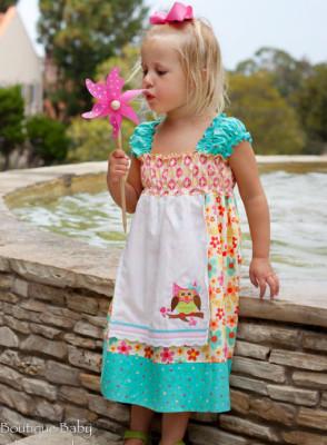 Nadia Dress Pattern – PDF