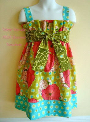 Alia Girls Dress Pattern – PDF