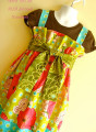 Alia Girls Dress Pattern - PDF